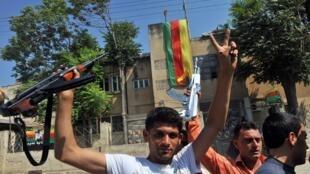 Les Kurdes syriens (photo d'archives, 2012).