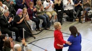 Hillary Clinton, candidata democrata às presidenciais de 2016 nos EUA