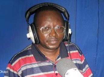 Floribert Chebeya sur Radio Okapi.