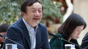 Ren Zhengfei, le PDG de Huawei en janvier 2019.