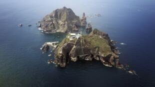 Quần đảo Dokdo/Takeshima do Seoul quản lý nhưng Tokyo cũng đòi chủ quyền.