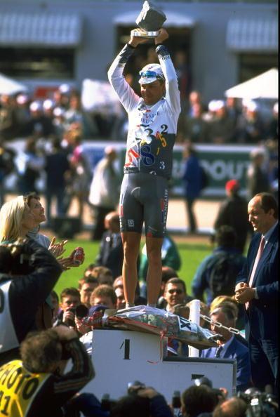 Le 13 avril 1997, Frédéric Guesdon entre dans la légende de Paris-Roubaix.