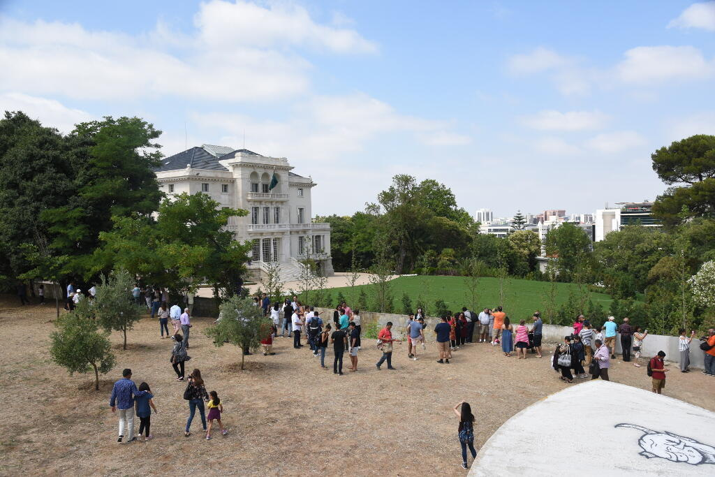 Le palais Mendonça, à Lisbonne, siège de l'imamat ismaélien qui accueille aussi les bureaux de l'Aga Kahn, chef spirituel de cette communauté.