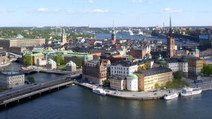 Une vue de Stockholm.  «La Suède est un pays solidaire» insiste d'emblée Fredrik Olofsson, un député social-démocrate.