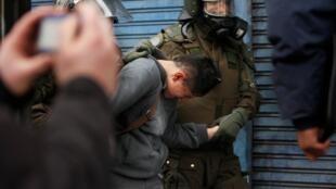 Essa já é a oitava violenta dos últimos três meses na capital chilena.