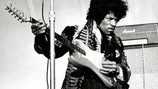 Jimi Hendrix, seen here in 1967, died on September 18, 1970 after taking sleeping pills and red wine at a hotel in London