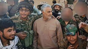 Chief of Iran's Quds Force Major General Qassem Soleimani had been sighted with advancing Syria and allied forces near the Iraqi border.