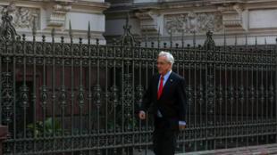 Sebastian Piñera, le président chilien de retour au pouvoir après la présidentielle du 17 décembre dernier, à Santiago, ce samedi 10 mars 2018, à la veille de son investiture.