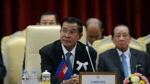 Le Premier ministre cambodgien Hun Sen, en novembre 2012 à Phnom Penh.