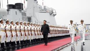 Китайский ракетный эскадренный миноносец «Синин»