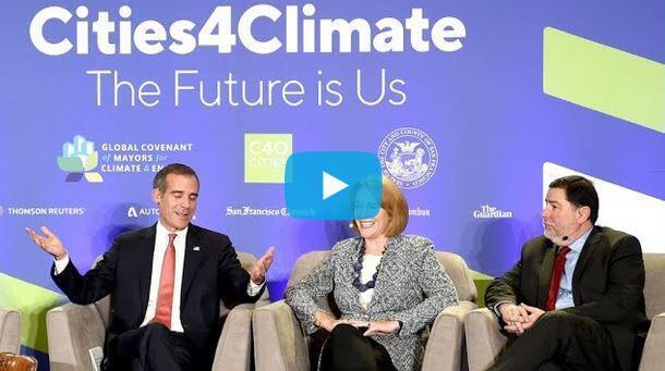 """舊金山舉行""""全球氣候行動峰會"""""""
