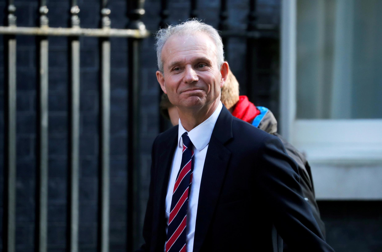 Le vice-Premier ministre britannique David Lidington devant Downing Street à Londres, le 1er avril 2019.