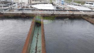 Bassin de filtration des eaux.