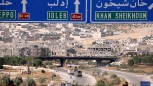 Provincia de idlib en Siria el pasado mes de agosto