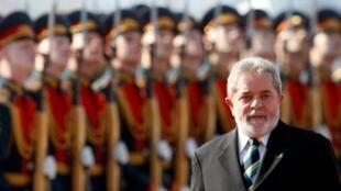 巴西总统卢拉到访莫斯科. (14/5/2010)
