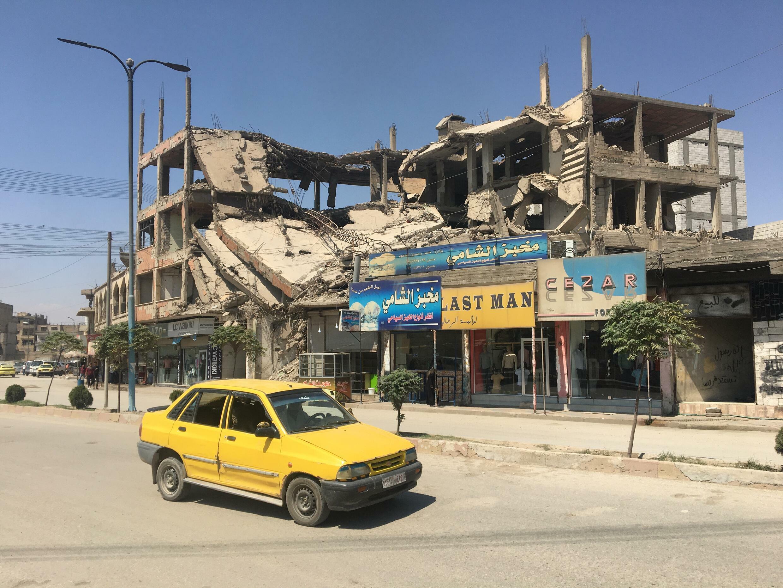 Raqqa 1 ruines
