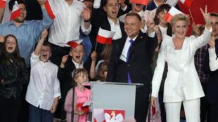O chefe de Estado da Polónia, Andrzej Duda, venceu as presidenciais deste domingo.