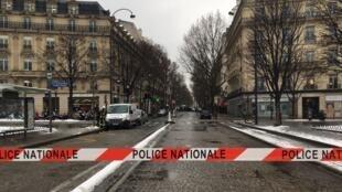 Banco de investimento Milleis, em Paris, foi assaltado nesta terça-feira, 22 de janeiro de 2019.