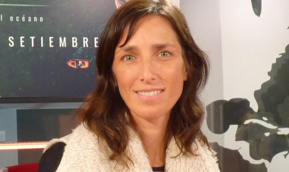 Mariana Tschudi en los estudios de RFI