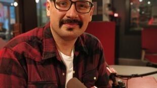 O jornalista e autor do livro Lindo Sonho Delirante (LSD), Bento Araújo
