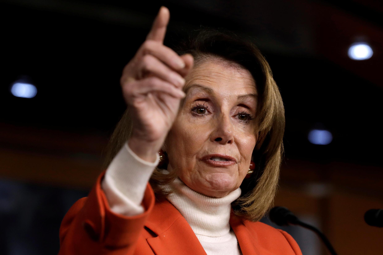 نانسی پلوسی، رئیس مجلس نمایندگان ایالات متحد آمریکا
