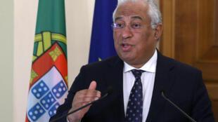 Le Premier ministre portugais Antonio Costa, le 29 janvier 2019 à Chypre.