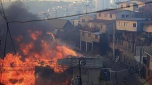 Valparaiso, le 14 avril 2014.
