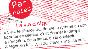 La vie sonore d'Alger.