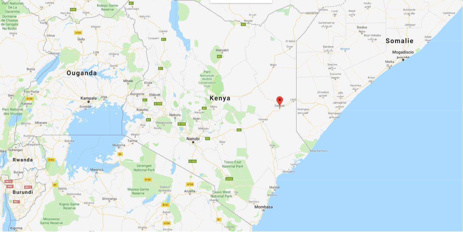 Le camp de Dadaab, située non loin de la frontière somalienne sur un axe clé, est régulièrement visité par les terroristes shebabs qui y recrutent leurs combattants.