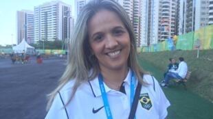 Nell Salgado, coach de Rafaela Sillva, medalha de ouro nos Jogos do Rio 2016.