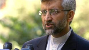 Said Jalili, négociateur responsable du dossier nucléaire iranien, s'est rendu à Pékin ce jeudi 1er avril 2010.