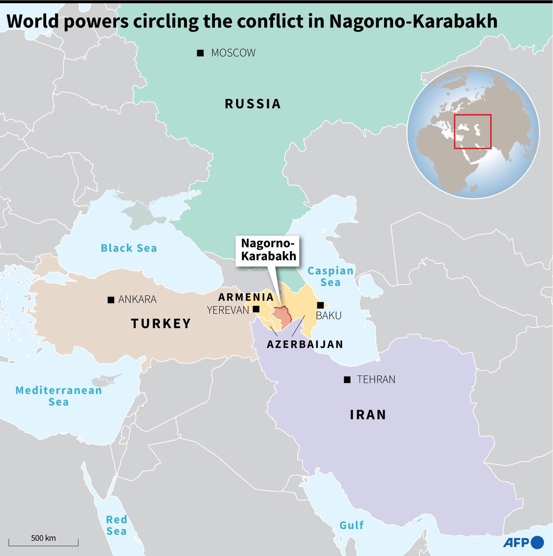 World powers circling Nagorno-Karabakh