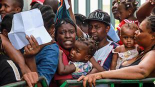 A cidade de Tapachula vive uma crise migratória atualmente.