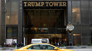 Tòa nhà Trump Tower, tại New York, biểu tượng thành công của đế chế Trump. Ảnh chụp ngày 10/11/2016.