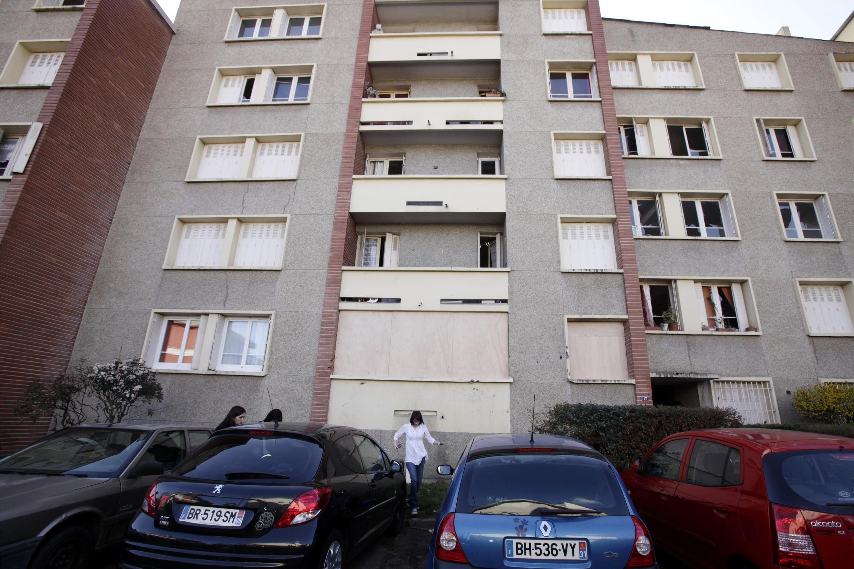Prédio oonde ocorreu o cerco a Mohamed Merah, em Toulouse.
