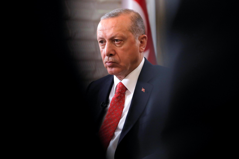 Президент Турции Реджеп Тайип Эрдоган в Нью-Йорке, 25 сентября 2018.