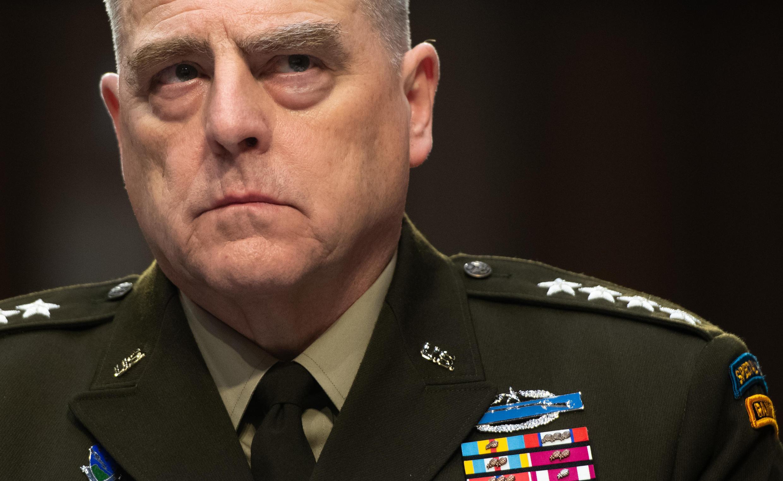 美軍參謀首長聯席會議主席馬克·米利(Mark Milley)