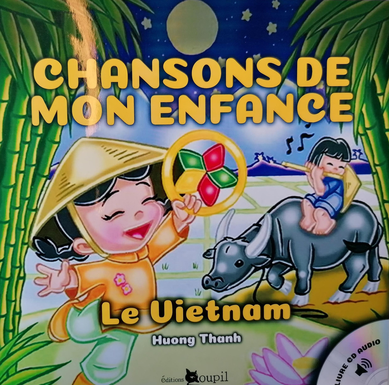 "Trang bìa của dĩa CD ""Chansons de mon enfance"""