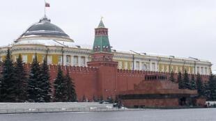 Lăng Lênin tại Quảng trường Đỏ.