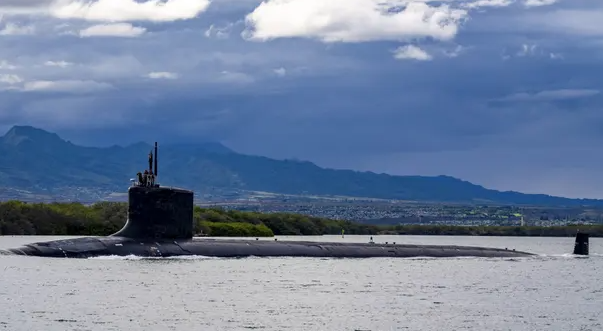 """美國海軍""""密蘇里""""號潛艇資料圖片"""