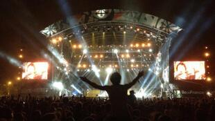 A organização do festival Rock en Seine espera atrair mais de 100 mil pessoas este ano.