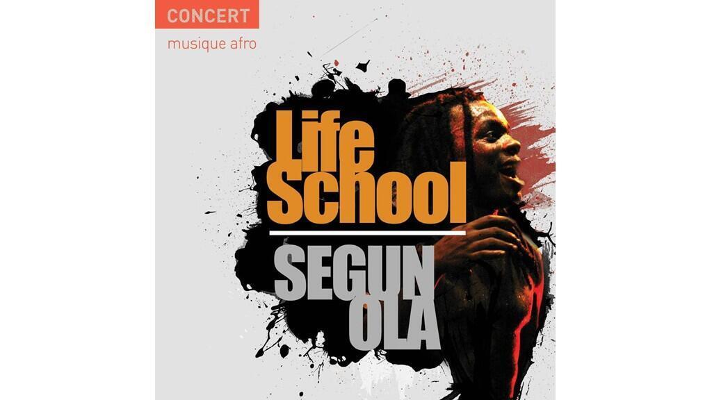 La pochette du CD de Segun Ola «Life school».