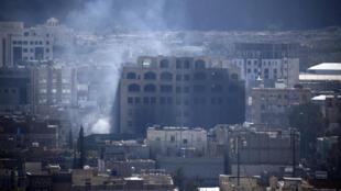 Sanaa, la capitale du Yémen, est la principale cible des attaques de la coalition menée par l'Arabie Saoudite.