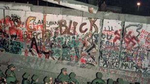 Le Mur de Berlin.