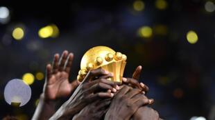 Troféu do vencedor da CAN.