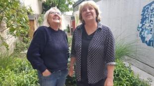 Kirsten, 75, e Catherine, 65, respectivamente a presidente e a secretária-geral da mítica Maison des Babayagas, em Montreuil, na região parisiense.