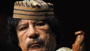 Moamer Kadhafi
