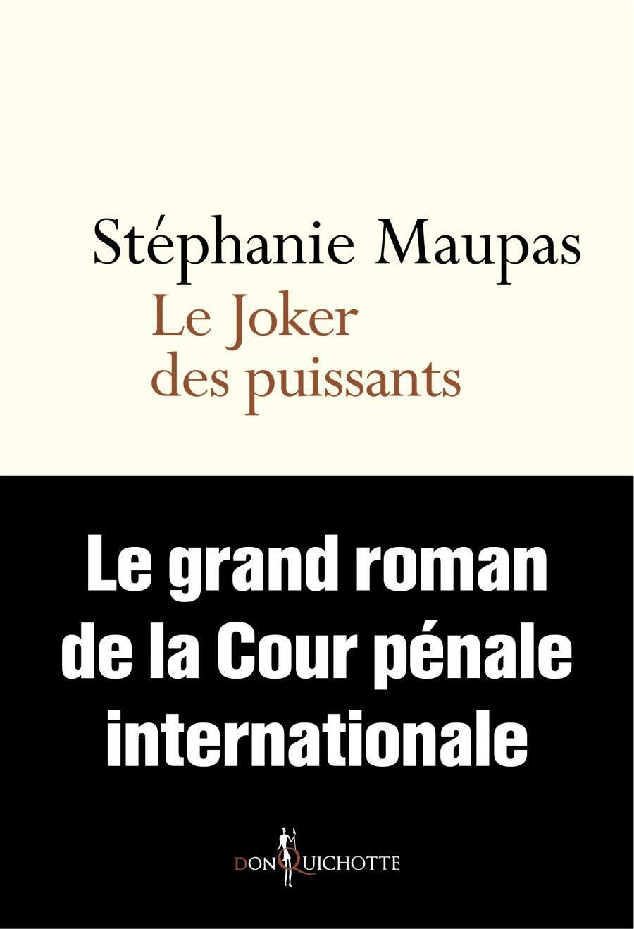La couverture du livre «Joker des puissants » de Stéphanie Maupas.