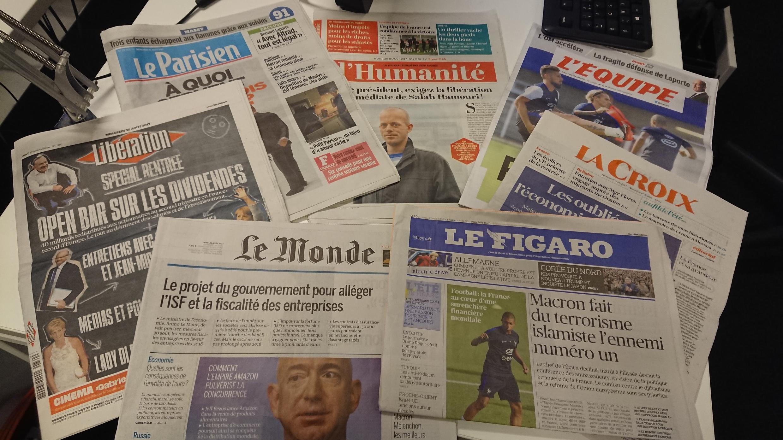 Diários franceses 30.08.2017