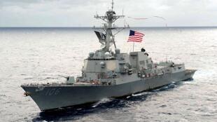 Khu trục hạm USS Stockdale của Hạm đội Thái Bình Dương của Mỹ. Ảnh minh họa.